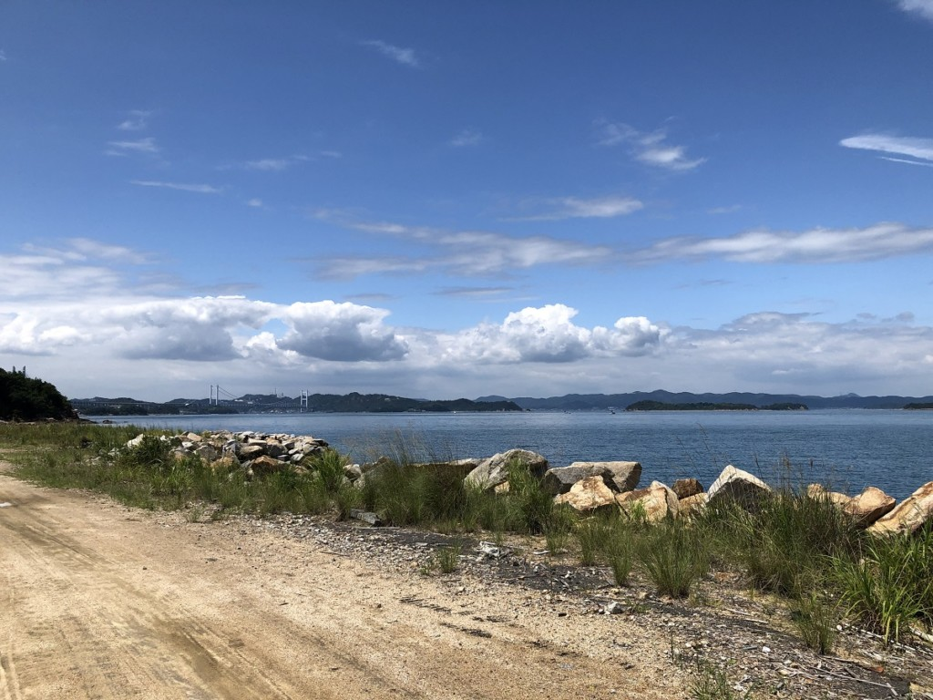 与島の風景画像